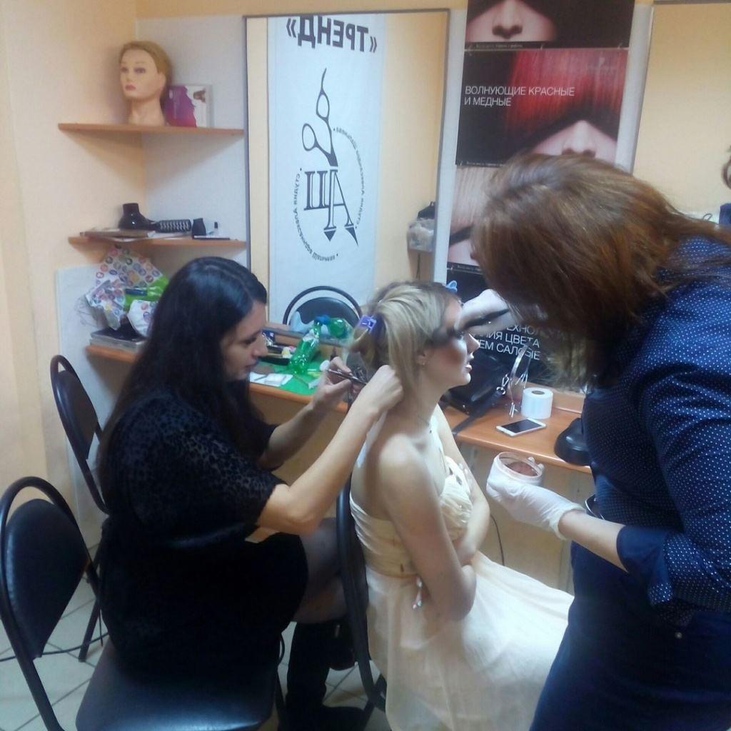 английская школа парикмахерского искусства в воронеже можно